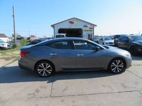 2016 Nissan Maxima for sale at Jefferson St Motors in Waterloo IA