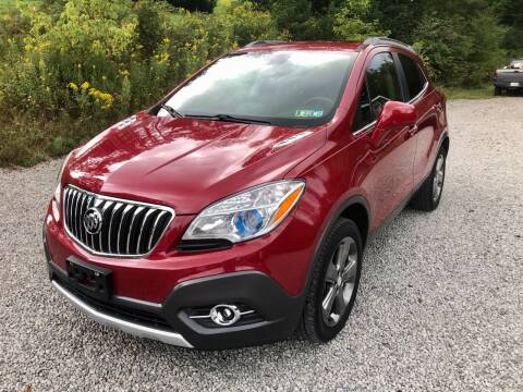 2013 Buick Encore for sale at R.A. Auto Sales in East Liverpool OH