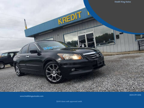 2011 Honda Accord for sale at Kredit King Autos in Montgomery AL