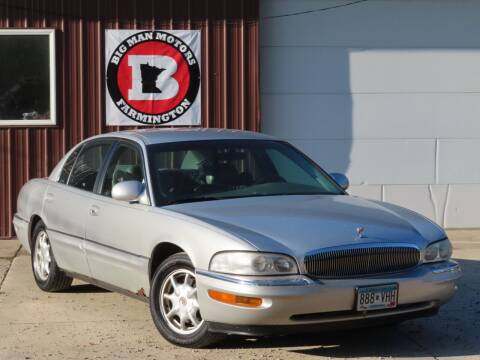 2002 Buick Park Avenue for sale at Big Man Motors in Farmington MN