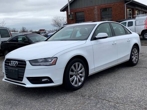 2013 Audi A4 for sale at CT Auto Center Sales in Milford CT