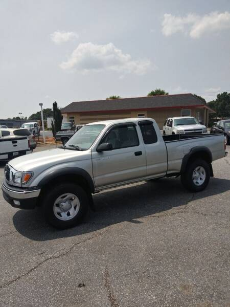 2003 Toyota Tacoma for sale at PRESTIGE MOTORCARS INC in Anderson SC