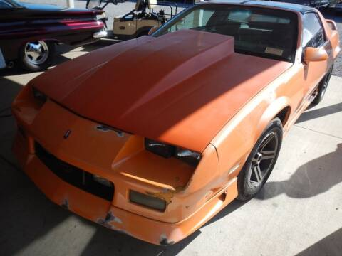 1984 Chevrolet Camaro for sale at Custom Rods and Muscle in Celina OH