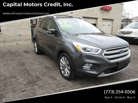 2017 Ford Escape for sale at Capital Motors Credit, Inc. in Chicago IL