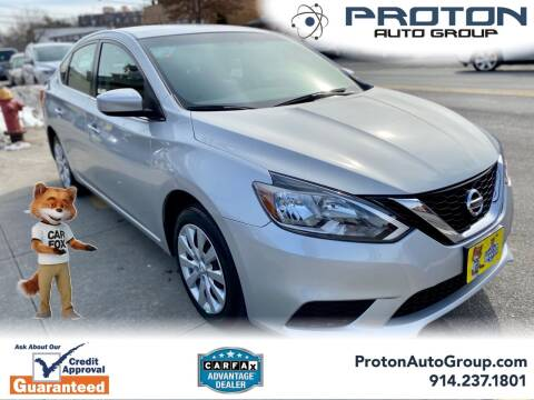 2019 Nissan Sentra for sale at Proton Auto Group in Yonkers NY