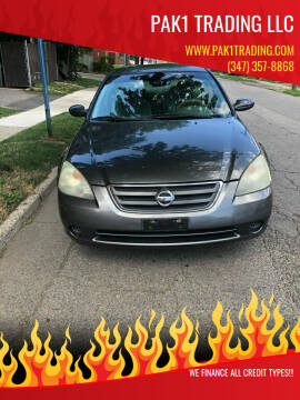 2004 Nissan Altima for sale at Pak1 Trading LLC in South Hackensack NJ
