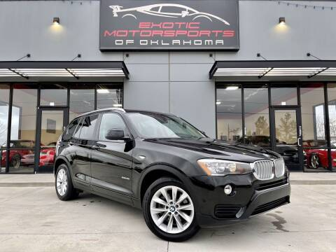 2017 BMW X3 for sale at Exotic Motorsports of Oklahoma in Edmond OK
