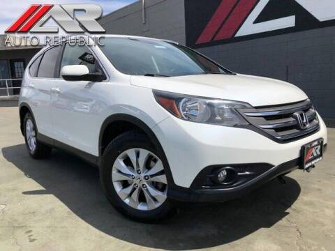 2013 Honda CR-V for sale at Auto Republic Fullerton in Fullerton CA