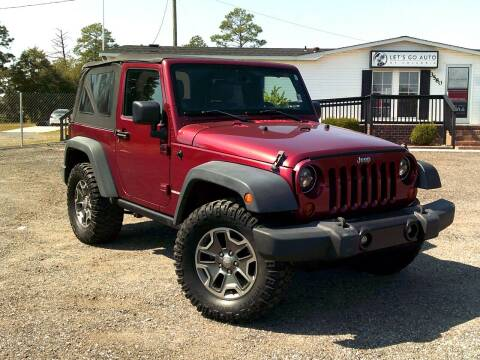 2013 Jeep Wrangler for sale at Let's Go Auto Of Columbia in West Columbia SC
