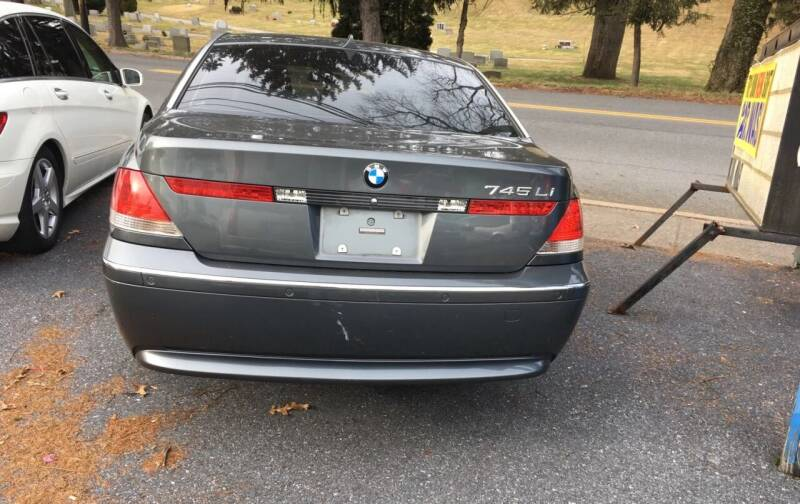 2005 BMW 7 Series for sale at Harrisburg Auto Center Inc. in Harrisburg PA