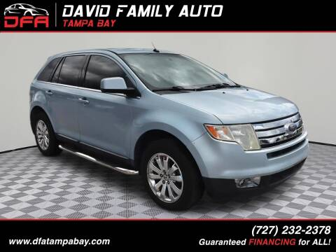 2008 Ford Edge for sale at David Family Auto in New Port Richey FL