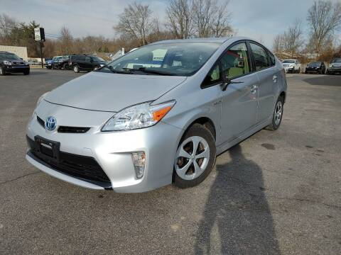 2014 Toyota Prius for sale at Cruisin' Auto Sales in Madison IN
