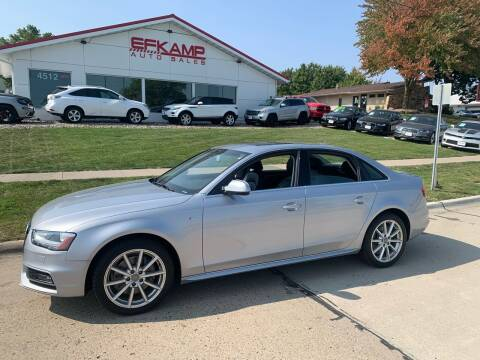 2015 Audi A4 for sale at Efkamp Auto Sales LLC in Des Moines IA