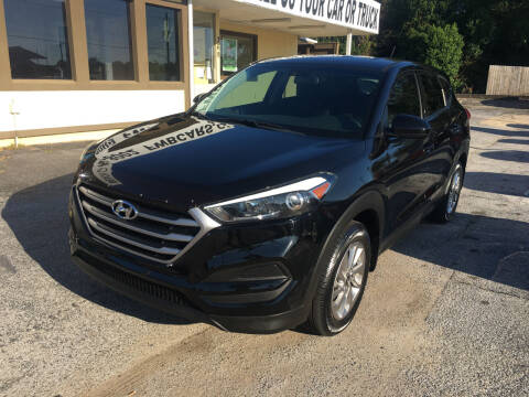 2017 Hyundai Tucson for sale at Beach Cars in Fort Walton Beach FL