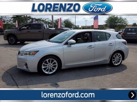 2011 Lexus CT 200h for sale at Lorenzo Ford in Homestead FL