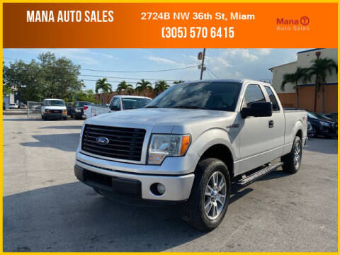 2014 Ford F-150 for sale at MANA AUTO SALES in Miami FL