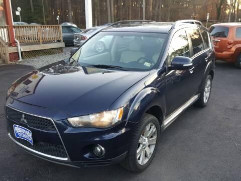 2010 Mitsubishi Outlander for sale at Premier Auto Sales Inc. in Newport News VA