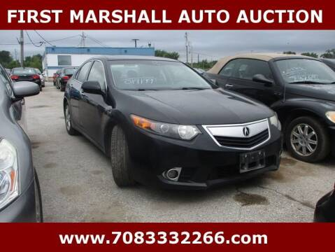 2012 Acura TSX for sale at First Marshall Auto Auction in Harvey IL