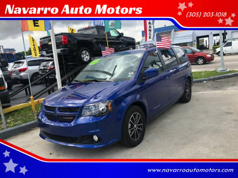 2019 Dodge Grand Caravan for sale at Navarro Auto Motors in Hialeah FL