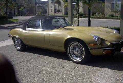 1974 Jaguar E-Type for sale at Classic Car Deals in Cadillac MI