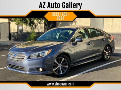 2015 Subaru Legacy for sale at AZ Auto Gallery in Mesa AZ