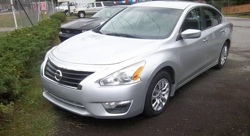 2015 Nissan Altima for sale at Sanders Motor Company in Goldsboro NC