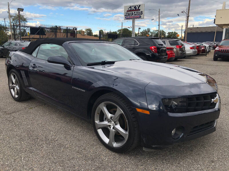 2013 Chevrolet Camaro for sale at SKY AUTO SALES in Detroit MI