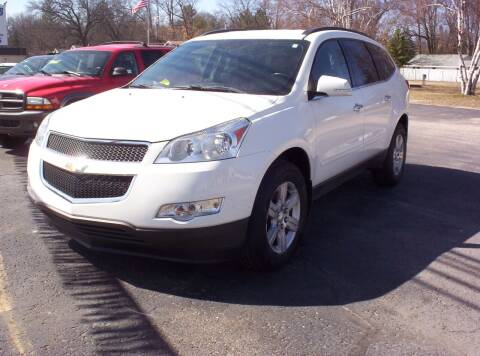 2012 Chevrolet Traverse for sale at LAKESIDE MOTORS LLC in Houghton Lake MI