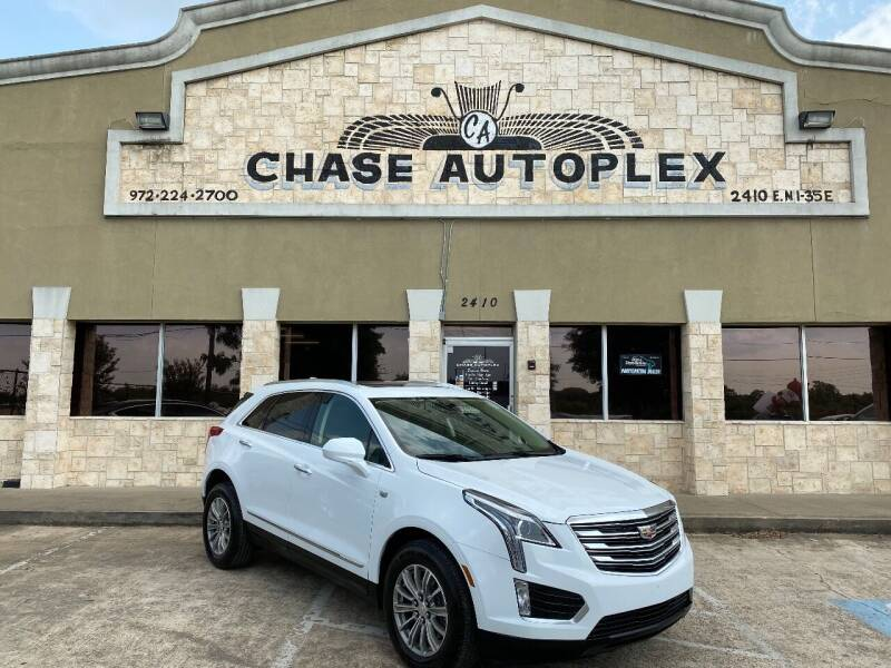 2018 Cadillac XT5 for sale at CHASE AUTOPLEX in Lancaster TX