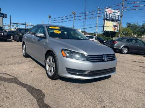 2012 Volkswagen Passat for sale at First Class Auto Land in Philadelphia PA