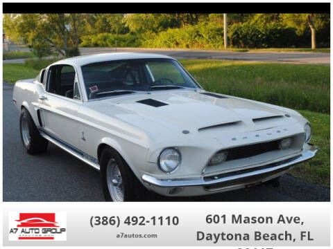 1968 Ford Shelby GT350 for sale at A7 AUTO SALES in Daytona Beach FL