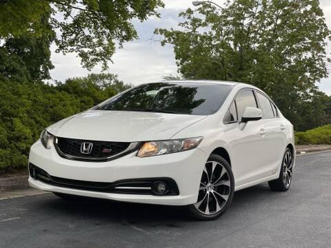 2013 Honda Civic for sale at William D Auto Sales in Norcross GA
