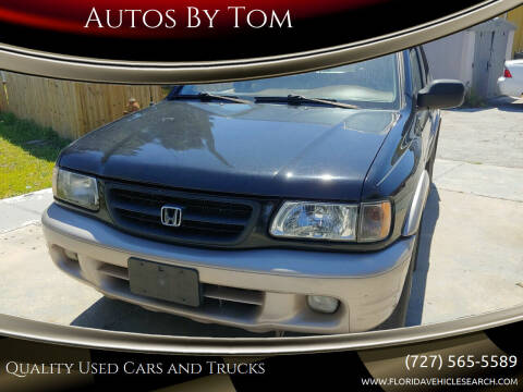 2000 Honda Passport for sale at Autos by Tom in Largo FL