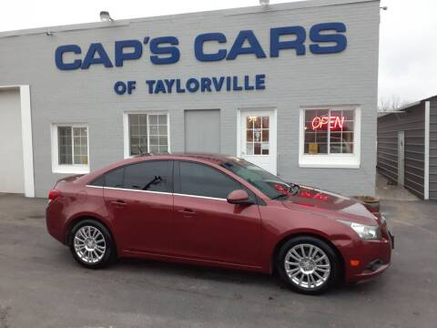 2012 Chevrolet Cruze for sale at Caps Cars Of Taylorville in Taylorville IL