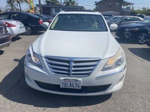 2012 Hyundai Genesis for sale at AutoHaus Loma Linda in Loma Linda CA