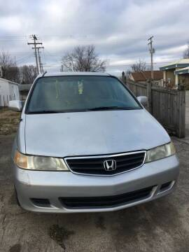 2002 Honda Odyssey for sale at Mike Hunter Auto Sales in Terre Haute IN