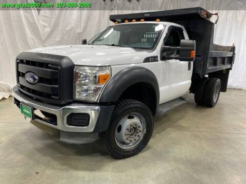 2013 Ford F-550 Super Duty for sale at Green Light Auto Sales LLC in Bethany CT