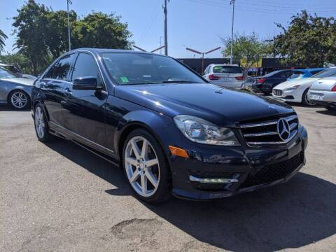 2014 Mercedes-Benz C-Class for sale at Convoy Motors LLC in National City CA