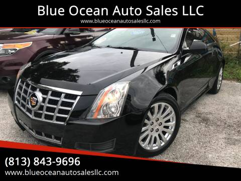 2012 Cadillac CTS for sale at Blue Ocean Auto Sales LLC in Tampa FL