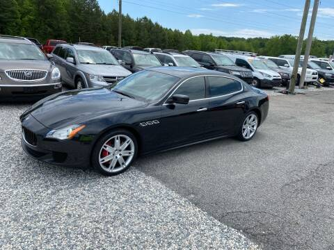 2014 Maserati Quattroporte for sale at Billy Ballew Motorsports in Dawsonville GA