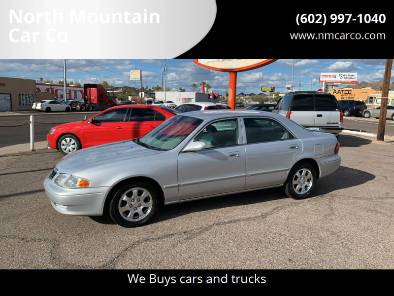 2002 Mazda 626 for sale at North Mountain Car Co in Phoenix AZ