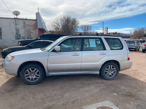 2007 Subaru Forester for sale at PYRAMID MOTORS AUTO SALES in Florence CO