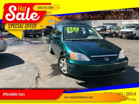 2001 Honda Civic for sale at Affordable Cars in Kingston NY