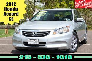2012 Honda Accord for sale at Ilan's Auto Sales in Glenside PA