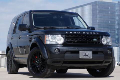2012 Land Rover LR4 for sale at JD MOTORS in Austin TX