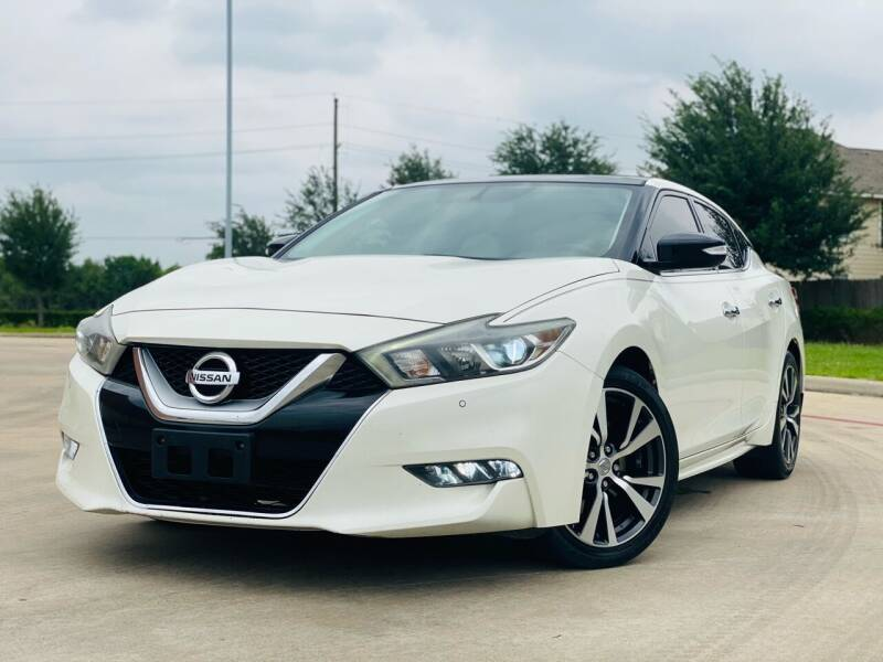2016 Nissan Maxima for sale at AUTO DIRECT in Houston TX