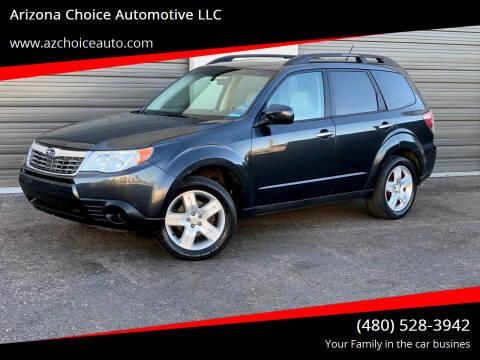 2009 Subaru Forester for sale at Arizona Choice Automotive LLC in Mesa AZ