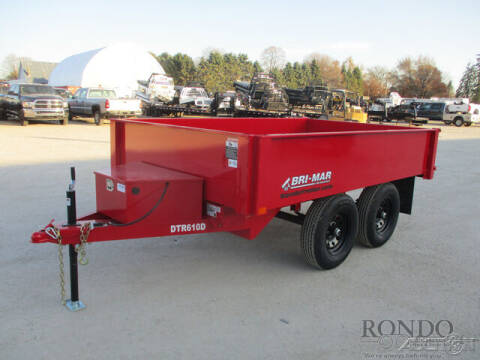 2021 Bri-Mar Dump DTR610D-10 for sale at Rondo Truck & Trailer in Sycamore IL