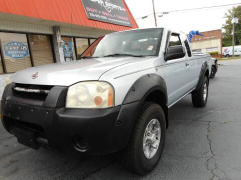 2001 Nissan Frontier for sale at Super Sports & Imports in Jonesville NC
