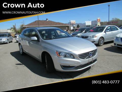 2015 Volvo V60 for sale at Crown Auto in South Salt Lake City UT